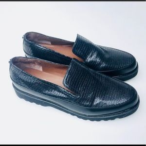 Donald Pliner Coco Slip On Loafers Shoes Sz 8.5